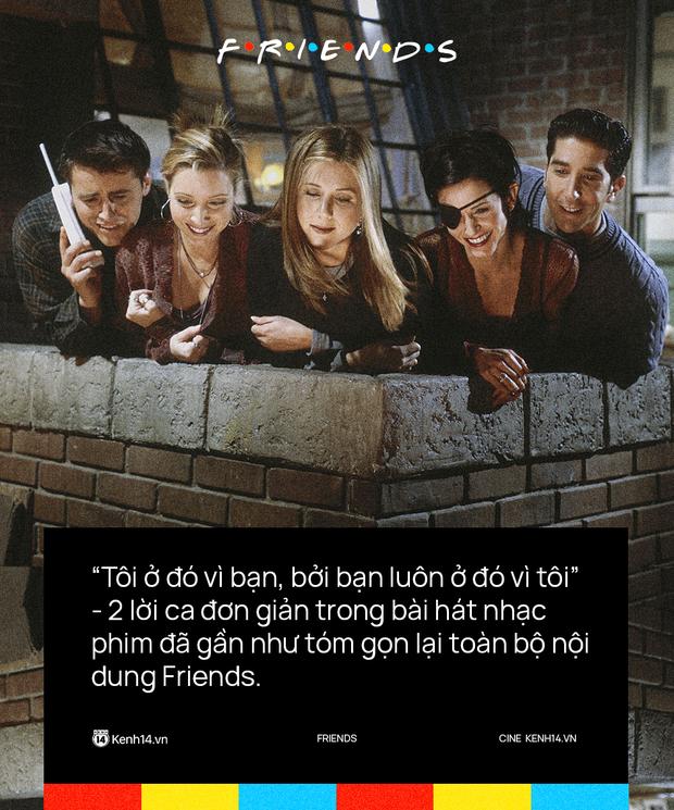 27 năm với Friends: Huyền thoại truyền hình thế giới và những bài học vỡ lòng về cuộc sống - Ảnh 8.