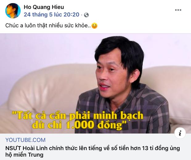 Sao Vbiz sau khi bênh vực NS Hoài Linh: Status của Cát Phượng, Nam Thư bay màu, Hứa Minh Đạt bị netizen dập tơi tả - Ảnh 12.