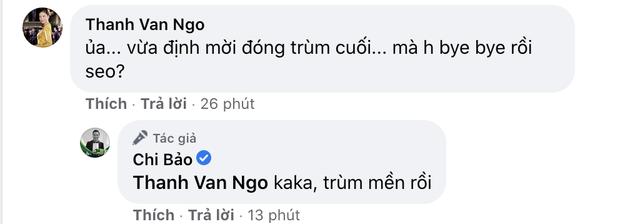 Ngô Thanh Vân và dàn sao Vbiz ngỡ ngàng trước quyết định giải nghệ của Chi Bảo, bạn gái kém 16 tuổi có lời nhắn đặc biệt - Ảnh 4.