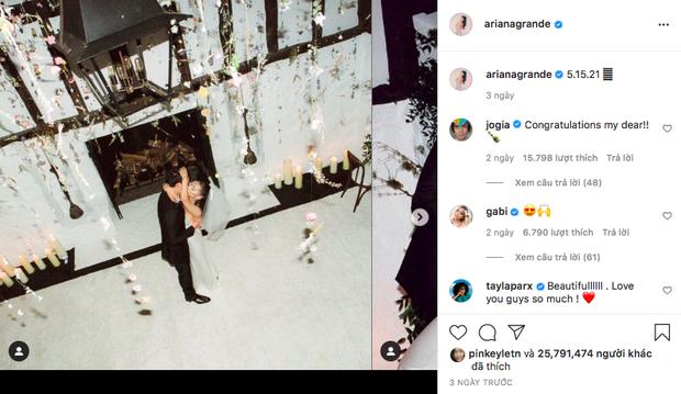 Ariana Grande sở hữu bức ảnh nhiều like thứ 2 thế giới trên Instagram, nhưng ngôi vị số 1 là câu chuyện hài hước phía sau! - Ảnh 1.