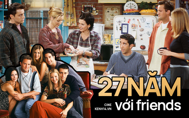 27 năm với Friends: Huyền thoại truyền hình thế giới và những bài học vỡ lòng về cuộc sống - Ảnh 1.