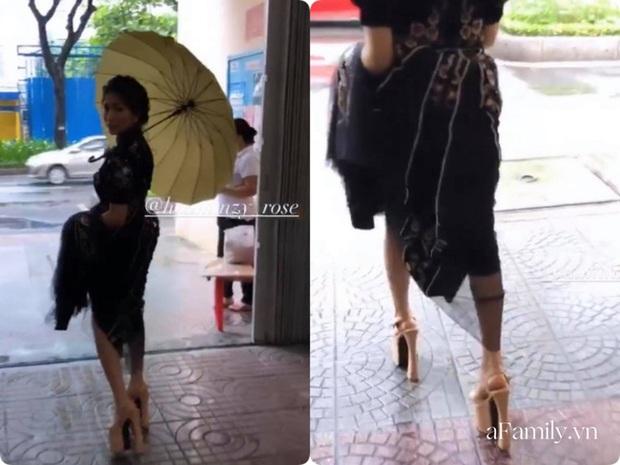 Hòa Minzy hé lộ đôi giày cao kỷ lục giúp ăn gian chiều cao, được dùng nhiều đến mức sờn cả da - Ảnh 2.