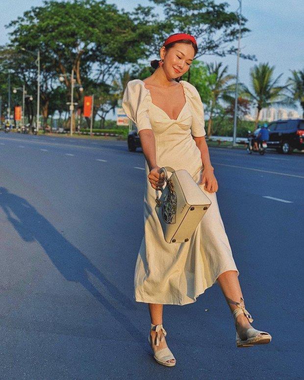 Ngắm bộ sưu tập váy đồ sộ của Thanh Hằng, đảm bảo các nàng 30+ mang về thêm nhiều kiểu trẻ trung và ghi trọn điểm sang chảnh - Ảnh 10.