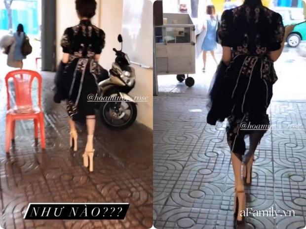 Hòa Minzy hé lộ đôi giày cao kỷ lục giúp ăn gian chiều cao, được dùng nhiều đến mức sờn cả da - Ảnh 3.