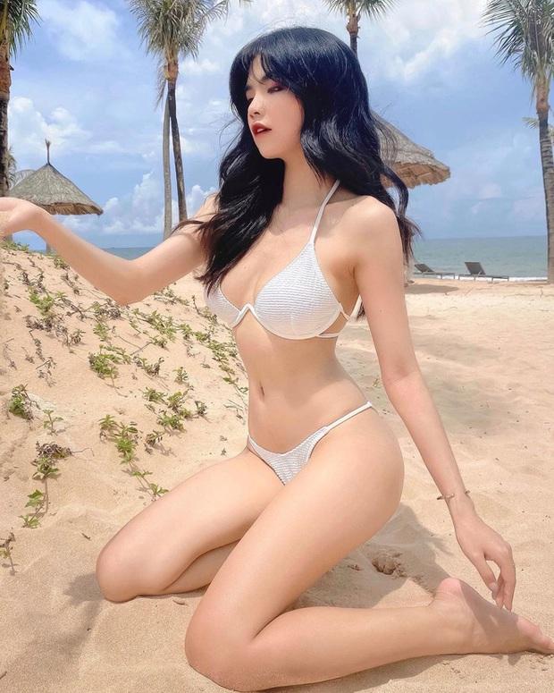 MC Mai Dora đăng ảnh mát mẻ, đập tan cái hè nóng bức nhưng bình luận của HLV Ren mới là điểm nhấn - Ảnh 6.