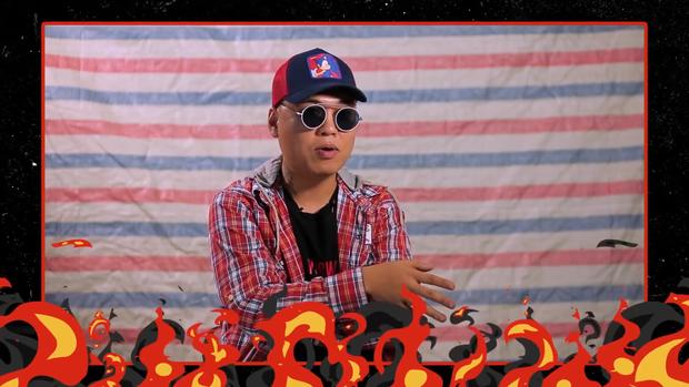 LK trả lời thế nào khi bị hỏi khó về Rap Việt lúc còn ngồi ghế nóng King Of Rap? - Ảnh 2.