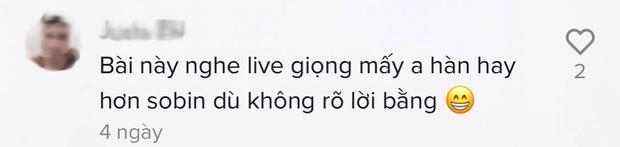 Nhóm nhạc Kpop song ca Phía Sau Một Cô Gái cùng Soobin chuẩn từng chữ, được khen hát rõ hơn cả Hari Won? - Ảnh 9.