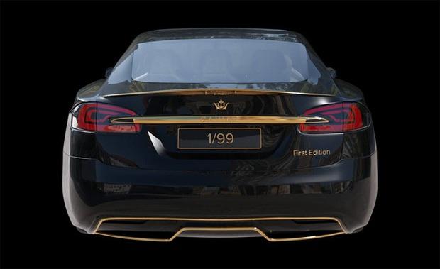 Chơi xe kiểu nhà giàu: Chi 7 tỷ mua cặp Tesla và iPhone 12 mạ vàng giới hạn 99 đôi trên toàn thế giới - Ảnh 7.