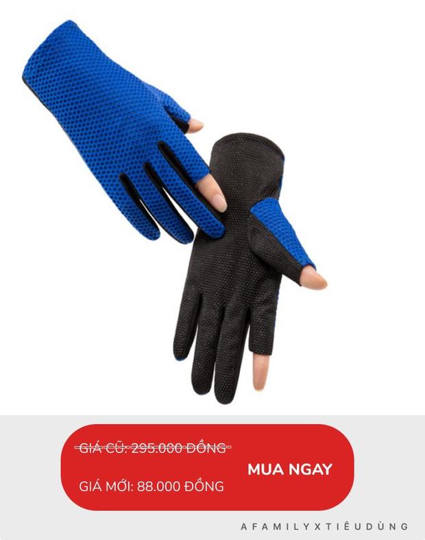 Đồ chống nắng nhiều món đang sale tới 81%, chỉ 12k mua được găng tay chống nắng loại tốt - Ảnh 7.