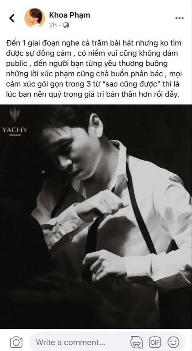 Karik ẩn ý về việc bị một người bạn từng yêu thương buông lời xúc phạm, netizen liền gọi tên Wowy, Lão Đại đáp trả ra sao? - Ảnh 1.