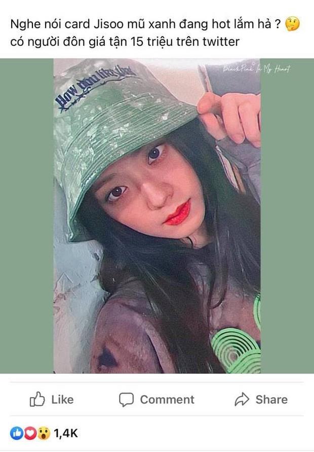 Jisoo (BLACKPINK) gây náo loạn Twitter chỉ với 1 tấm card, fan tranh nhau đấu giá lên đến... 15 triệu? - Ảnh 7.