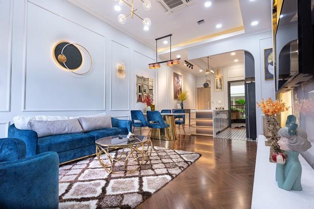 Mua chung cư 115m2, vợ chồng Đồng Nai chi thêm 700 triệu cải tạo lại, dành hẳn 1/3 diện tích để làm góc chill - Ảnh 1.
