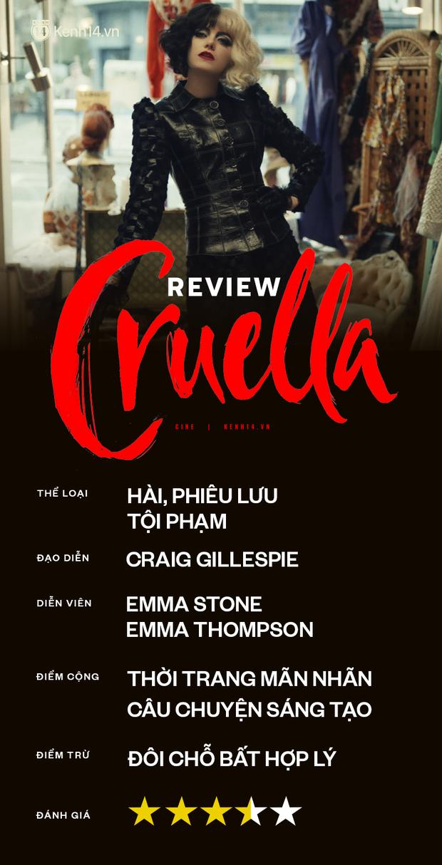 Cruella: Ác nữ trộm chó khơi mào cuộc chiến thời trang choáng ngợp, gây sốc dù phi lý - Ảnh 17.