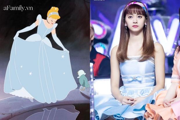 Công chúa Disney đời thực chính là Tzuyu: Bao lần lên đồ như nữ chính truyện cổ tích, bảo sao fan mê mẩn thế này! - Ảnh 2.