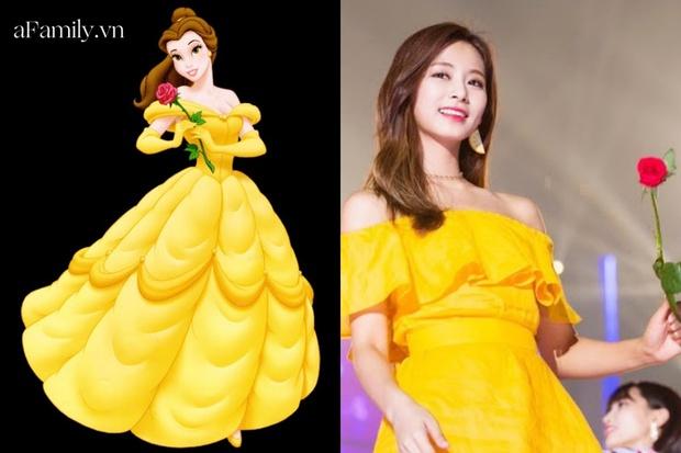 Công chúa Disney đời thực chính là Tzuyu: Bao lần lên đồ như nữ chính truyện cổ tích, bảo sao fan mê mẩn thế này! - Ảnh 4.