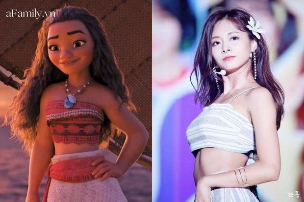 Công chúa Disney đời thực chính là Tzuyu: Bao lần lên đồ như nữ chính truyện cổ tích, bảo sao fan mê mẩn thế này! - Ảnh 9.