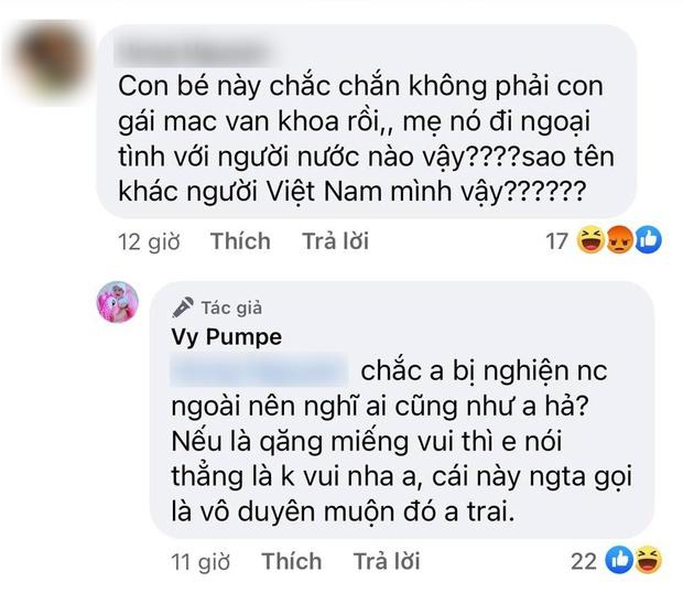 """Bị netizen nghi ngờ huyết thống con gái và tung tin ngoại tình, vợ Mạc Văn Khoa đáp trả 1:1 """"dằn mặt"""" căng đét - Ảnh 2."""