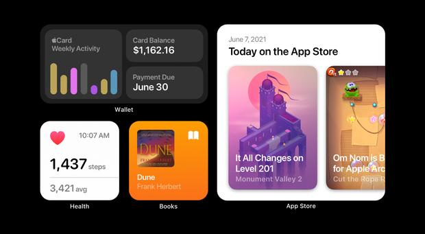 """Ngắm concept iOS 15 chuẩn bị ra mắt: Icon mới nổi bật hơn, bộ widget được cải tiến, cho khả năng tuỳ biến """"tẹt ga"""" - Ảnh 3."""