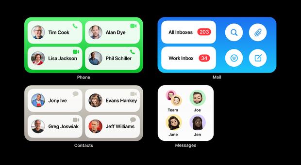"""Ngắm concept iOS 15 chuẩn bị ra mắt: Icon mới nổi bật hơn, bộ widget được cải tiến, cho khả năng tuỳ biến """"tẹt ga"""" - Ảnh 2."""