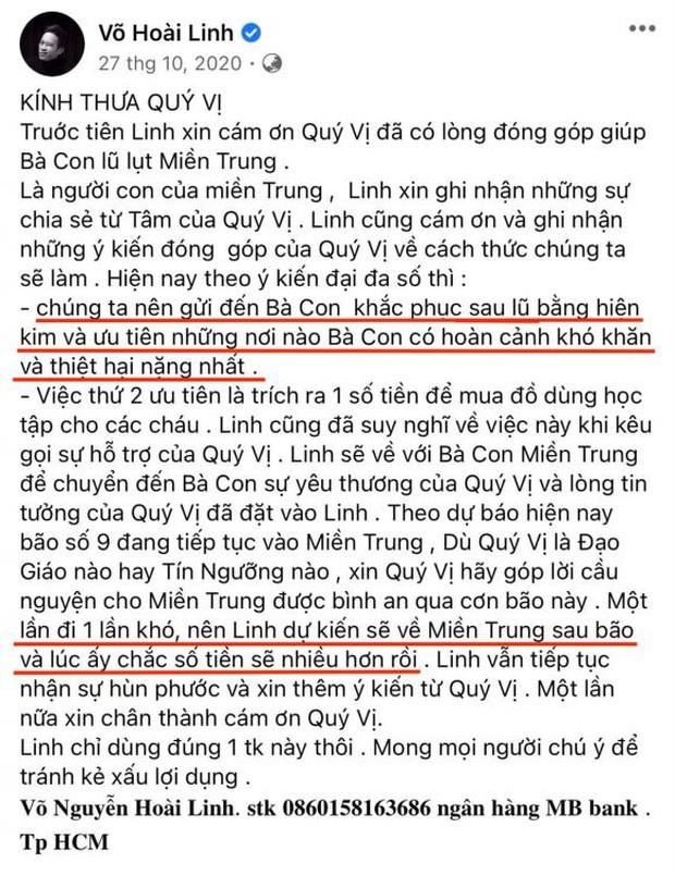 Netizen soi lại 1 điểm ở bài đăng kêu gọi nhằm minh oan cho Hoài Linh, hoá ra nam NS nói rõ mục đích từ thiện từ đầu? - Ảnh 2.