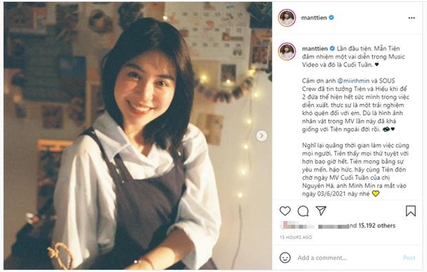 Nàng thơ Nguyên Hà thông báo trở lại với sản phẩm kết hợp Minh Min, hot girl Mẫn Tiên lần đầu đóng chính trong 1 MV - Ảnh 5.