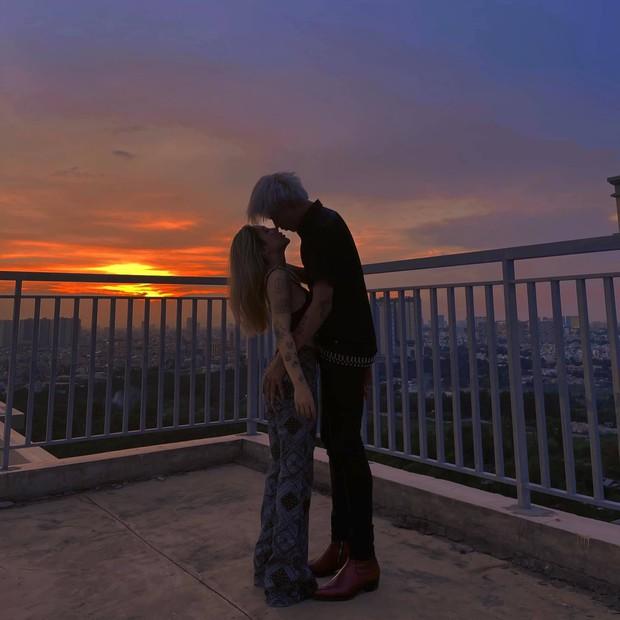 Đạt G hạnh phúc với Cindy Lư, Du Uyên cũng tung luôn ảnh hôn bồ mới! - Ảnh 5.