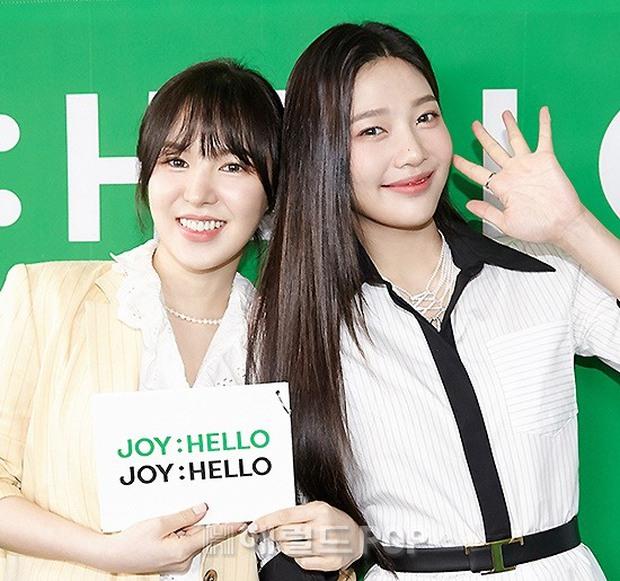 Họp báo hot nhất hôm nay: Joy (Red Velvet) giản dị mà đẹp dữ thần, Wendy gây bất ngờ với gương mặt bớt đơ cứng hơn hẳn - Ảnh 6.