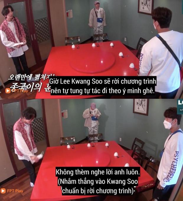 Fan xót xa khi Lee Kwang Soo thừa nhận không nuốt nổi cơm sau khi xác nhận rời Running Man - Ảnh 3.