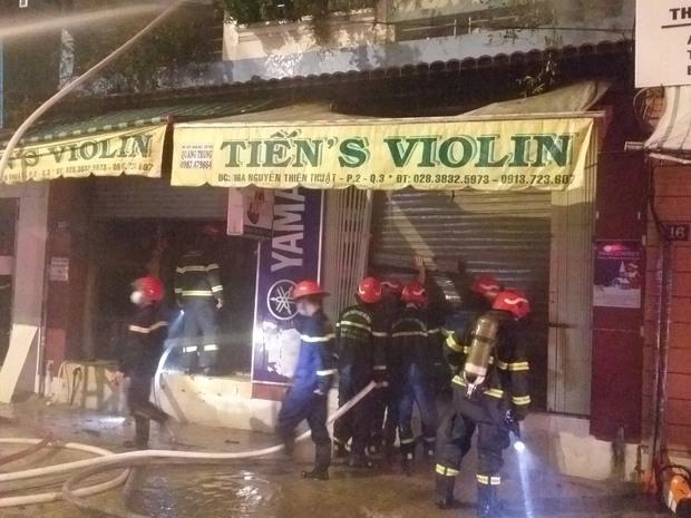 Vụ cháy nhà lúc rạng sáng ở TP.HCM: 2 nạn nhân đã tử vong - Ảnh 3.