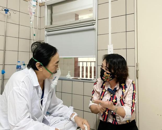 NS Trà My tiết lộ tình hình sức khoẻ của NS Giang Còi sau khi nhập viện vì ung thư: Sút 14kg rồi, thương lắm - Ảnh 5.