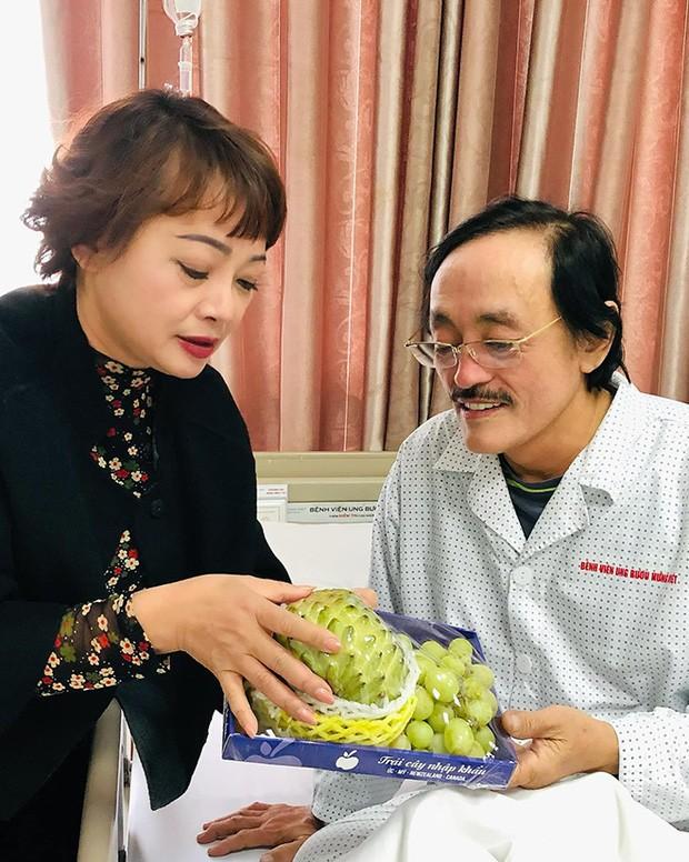 NS Trà My tiết lộ tình hình sức khoẻ của NS Giang Còi sau khi nhập viện vì ung thư: Sút 14kg rồi, thương lắm - Ảnh 6.