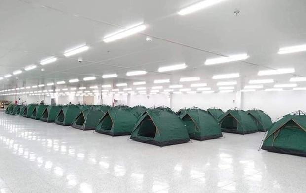 Chỗ ăn, ở chưa có tiền lệ của công nhân trong khu công nghiệp Bắc Ninh - Ảnh 1.