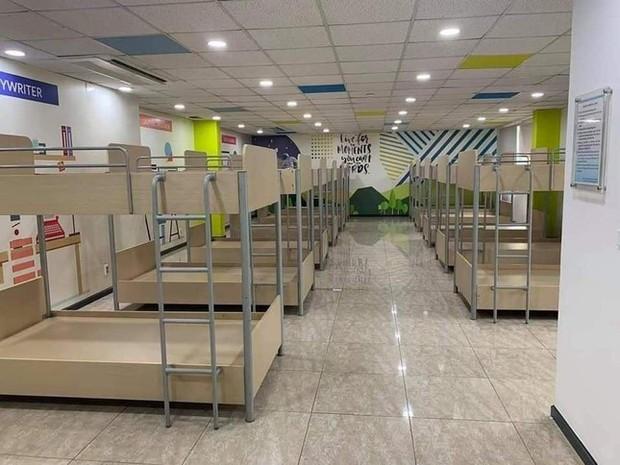 Chỗ ăn, ở chưa có tiền lệ của công nhân trong khu công nghiệp Bắc Ninh - Ảnh 2.