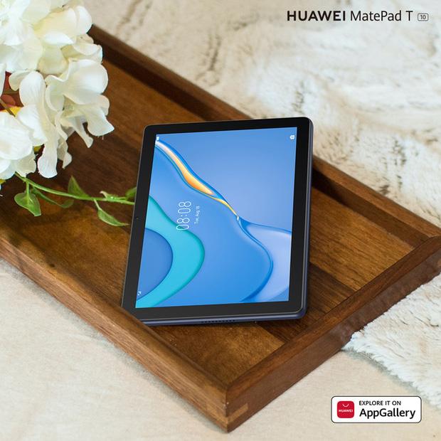 Huawei ra mắt máy tính bảng MatePad T 10 tại VN: Màn hình 9.7 inch, chip Kirin 710A, pin 5100mAh, giá 3.99 triệu đồng - Ảnh 1.