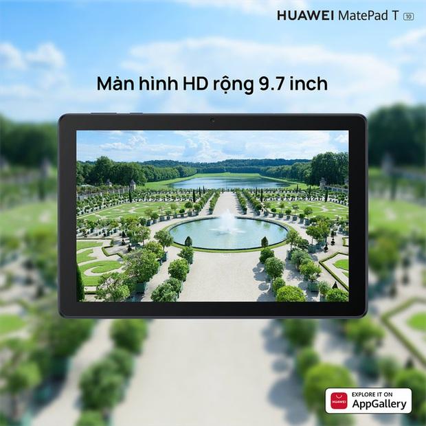 Huawei ra mắt máy tính bảng MatePad T 10 tại VN: Màn hình 9.7 inch, chip Kirin 710A, pin 5100mAh, giá 3.99 triệu đồng - Ảnh 2.