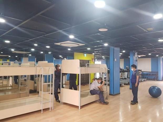 Chỗ ăn, ở chưa có tiền lệ của công nhân trong khu công nghiệp Bắc Ninh - Ảnh 4.