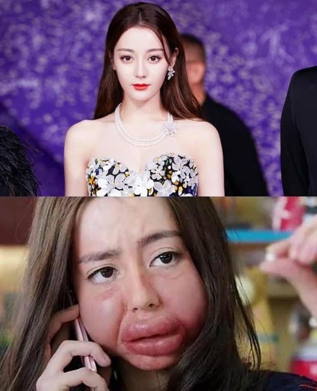 Mỹ nhân Hoa ngữ hóa cá sấu chúa trên phim: Địch Lệ Nhiệt Ba sưng nát mặt, hai cô cuối không cười không lấy tiền! - Ảnh 1.