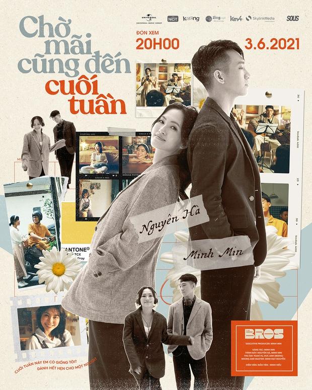 Nàng thơ Nguyên Hà thông báo trở lại với sản phẩm kết hợp Minh Min, hot girl Mẫn Tiên lần đầu đóng chính trong 1 MV - Ảnh 3.