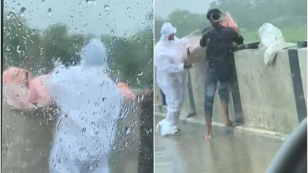 Cảnh sát bắt giữ 2 người đàn ông ném thi thể người chết xuống sông, hé lộ một thực tế đáng sợ của Ấn Độ ngay lúc này - Ảnh 2.