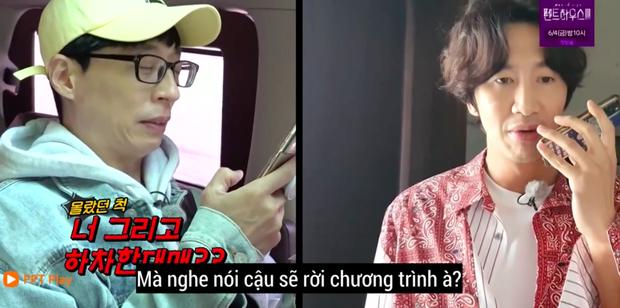 Fan xót xa khi Lee Kwang Soo thừa nhận không nuốt nổi cơm sau khi xác nhận rời Running Man - Ảnh 2.