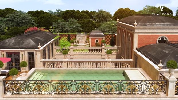 Thái Công tiếp tục vướng tranh cãi: Thiết kế biệt thự cồng kềnh đi mỏi chân, phòng tắm treo tận 8 đèn tường - Ảnh 13.