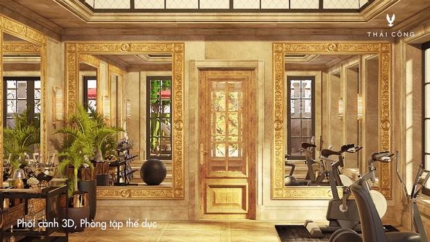 Thái Công tiếp tục vướng tranh cãi: Thiết kế biệt thự cồng kềnh đi mỏi chân, phòng tắm treo tận 8 đèn tường - Ảnh 17.
