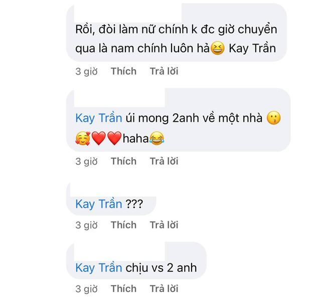 Sơn Tùng dặn fan chờ cậu ấy nha, Kay Trần liền hồi âm bằng 1 cái gif đậm mùi đam mỹ làm các fan hủ nữ bấn loạn - Ảnh 4.