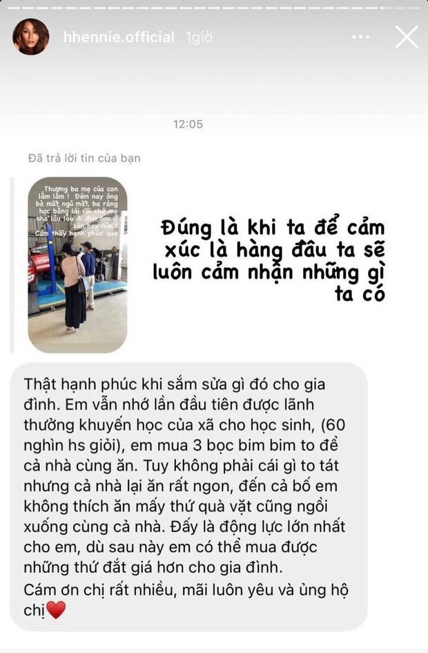 Nói là làm, nàng hậu bình dân nhất Vbiz HHen Niê tậu xế tặng bố mẹ để không thua thiệt với lối xóm bạn bè - Ảnh 4.