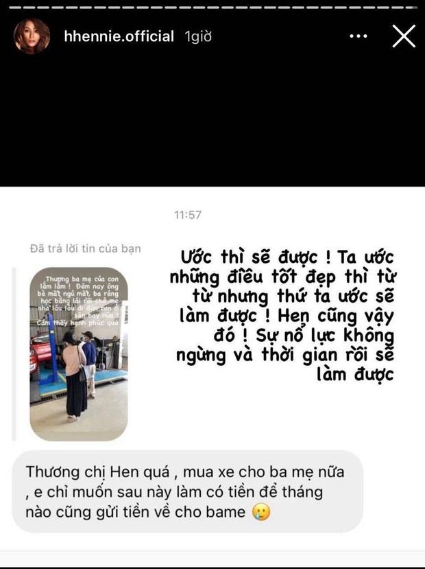 Nói là làm, nàng hậu bình dân nhất Vbiz HHen Niê tậu xế tặng bố mẹ để không thua thiệt với lối xóm bạn bè - Ảnh 5.