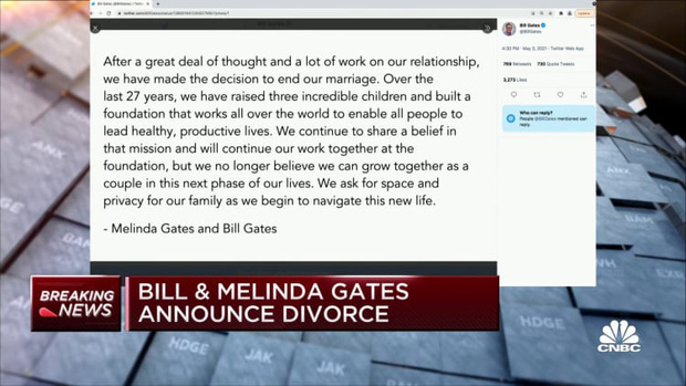 Nóng: Vợ chồng tỷ phú Bill Gates ly hôn, kết thúc chuyện tình kéo dài gần 3 thập kỷ - Ảnh 1.