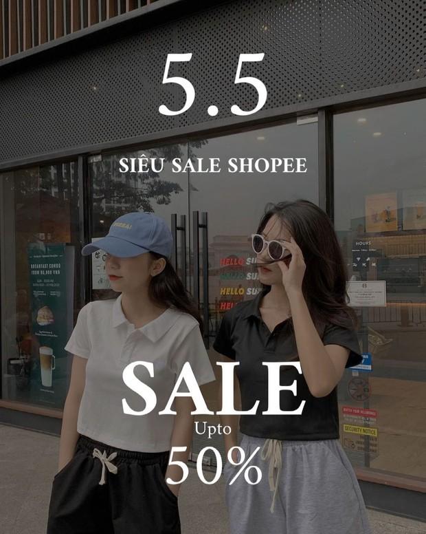 """Loạt shop thời trang rần rần sale 5/5: Giảm đến 50%, chị em nhanh """"chốt đơn"""" đồ hè xinh xẻo giá hời - Ảnh 15."""