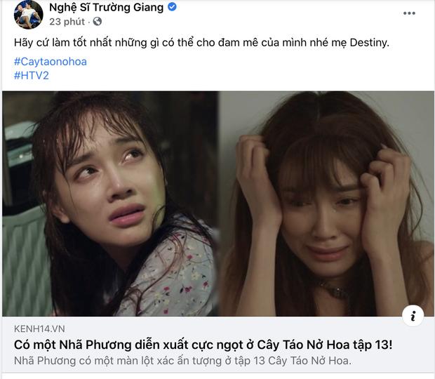 Nhã Phương dính ồn ào với đạo diễn phim 1990, Trường Giang chia sẻ phim khác để động viên vợ, anh rể cũng có động thái chú ý - Ảnh 3.