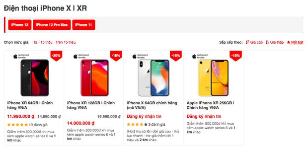 Nhiều dòng iPhone cũ đang giảm giá cực mạnh, thời điểm xuống tiền chốt đơn đây rồi! - Ảnh 3.