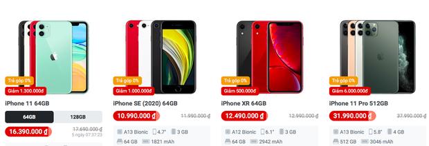 Nhiều dòng iPhone cũ đang giảm giá cực mạnh, thời điểm xuống tiền chốt đơn đây rồi! - Ảnh 6.